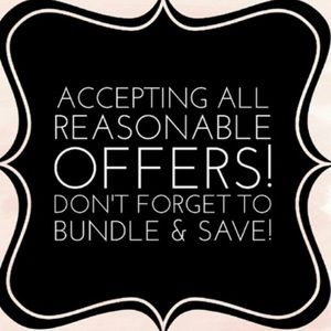 Other - Offers are welcomed, bundle to save more